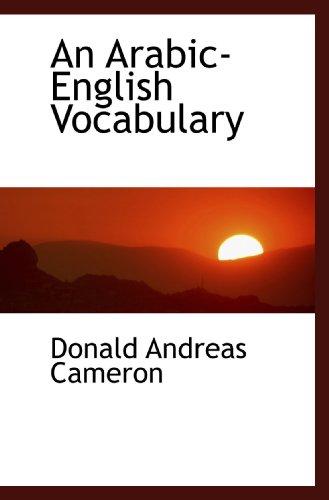 9781116153231: An Arabic-English Vocabulary