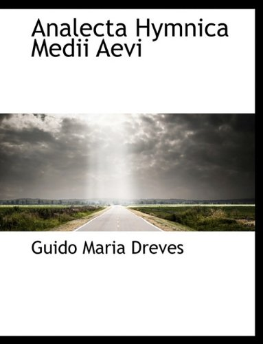 9781116153804: Analecta Hymnica Medii Aevi