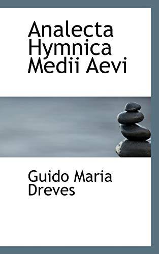 9781116153835: Analecta Hymnica Medii Aevi