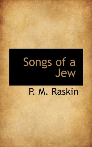 9781116169072: Songs of a Jew