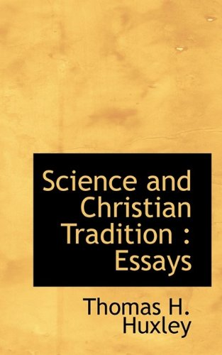 9781116181982: Science and Christian Tradition: Essays