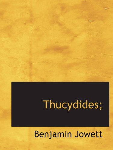 9781116192582: Thucydides;