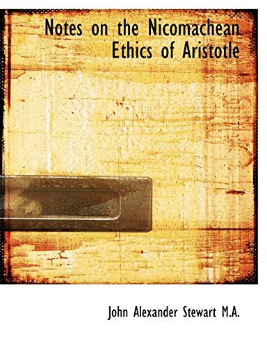 9781116193732: Notes on the Nicomachean Ethics of Aristotle