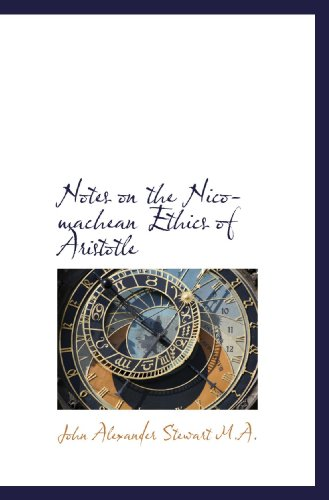 9781116193763: Notes on the Nicomachean Ethics of Aristotle