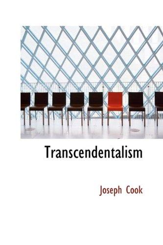 9781116200508: Transcendentalism