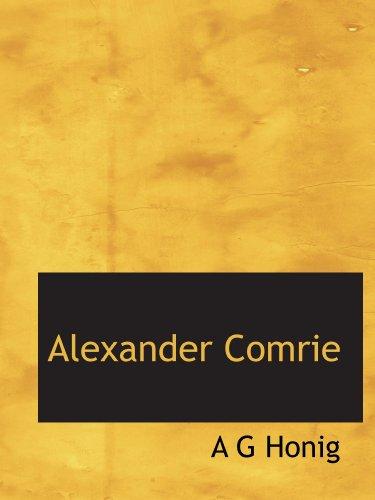 9781116291414: Alexander Comrie (Dutch Edition)