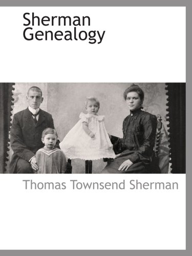 9781116316629: Sherman Genealogy