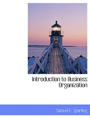 9781116319781: Introduction to Business Organization