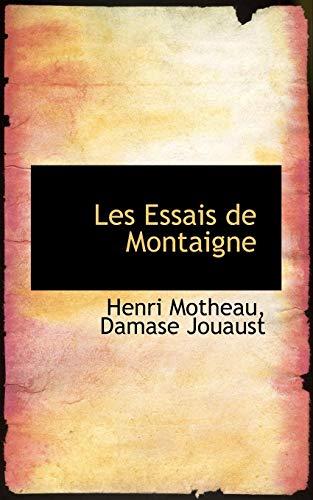 9781116346732: Les Essais de Montaigne