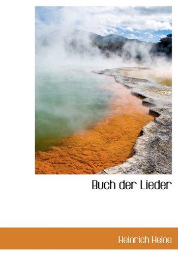 9781116349320: Buch Der Lieder (German Edition)
