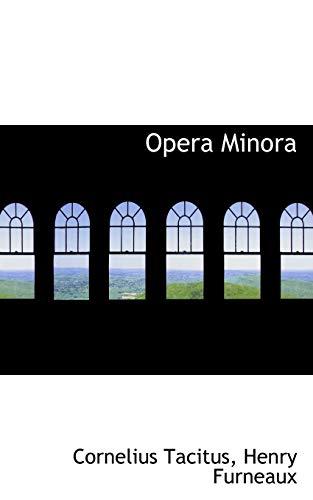 9781116385038: Opera Minora
