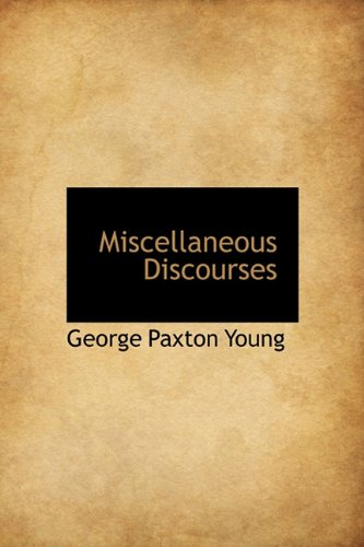 9781116386806: Miscellaneous Discourses