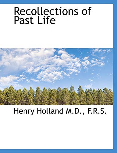 9781116391381: Recollections of Past Life