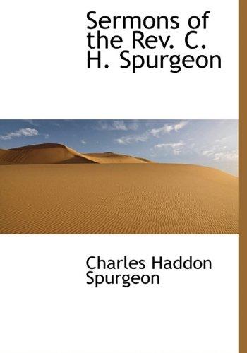 9781116396522: Sermons of the REV. C. H. Spurgeon