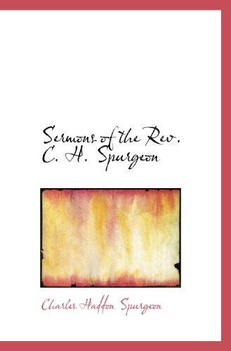 9781116396577: Sermons of the Rev. C. H. Spurgeon