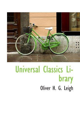 9781116399592: Universal Classics Library