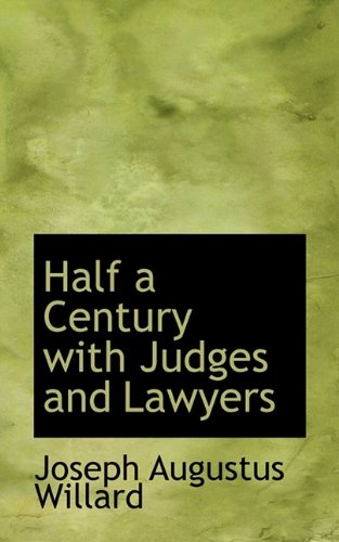 9781116410662: Half a Century with Judges and Lawyers