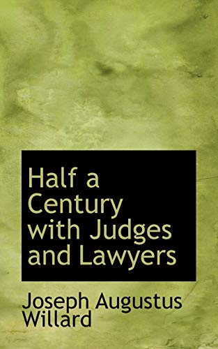 9781116410693: Half a Century with Judges and Lawyers