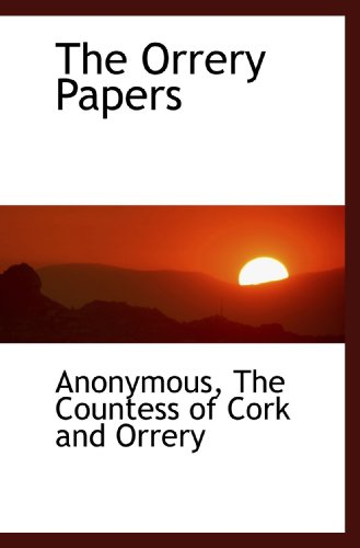 9781116417296: The Orrery Papers