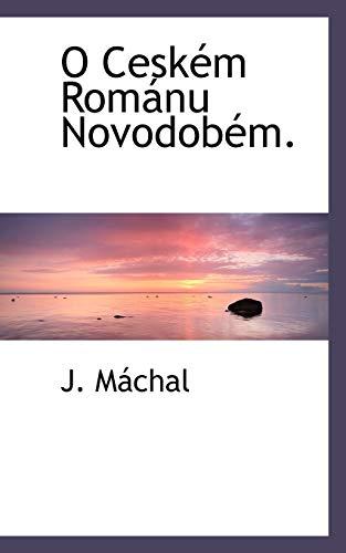 9781116421132: O Ceském Románu Novodobém.