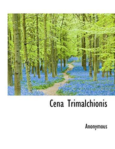 9781116428889: Cena Trimalchionis