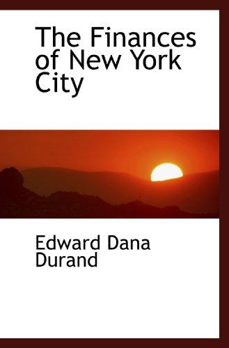 9781116511130: The Finances of New York City