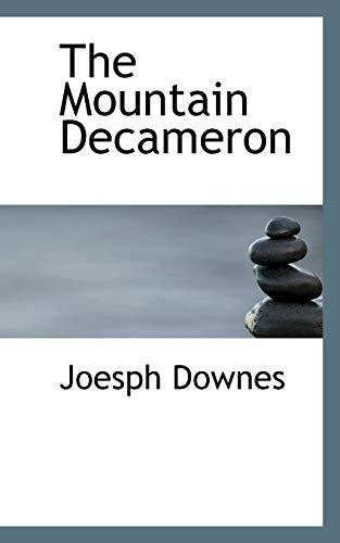 9781116541830: The Mountain Decameron