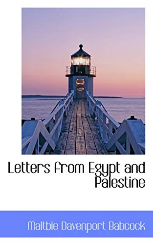 9781116695441: Letters from Egypt and Palestine