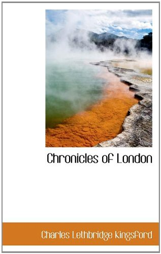 9781116753721: Chronicles of London