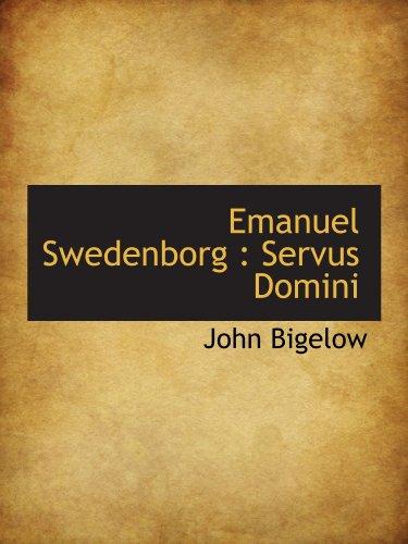 9781116834079: Emanuel Swedenborg : Servus Domini