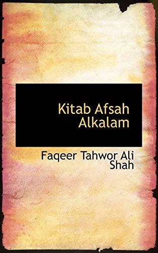 9781116843446: Kitab Afsah Alkalam