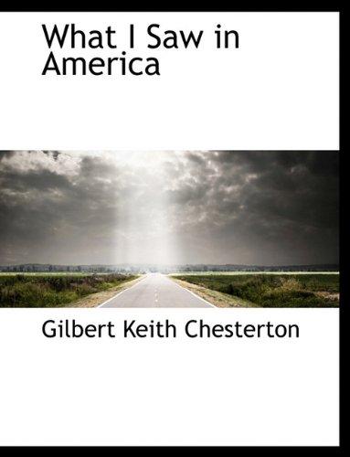 9781116859775: What I Saw in America