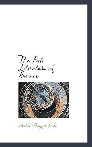 9781116908794: The Pali Literature of Burma