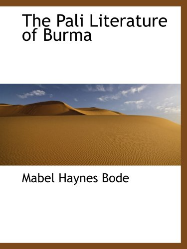 9781116908800: The Pali Literature of Burma