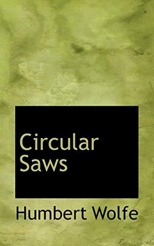 9781116913354: Circular Saws