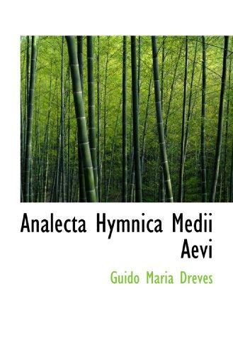 9781116928211: Analecta Hymnica Medii Aevi