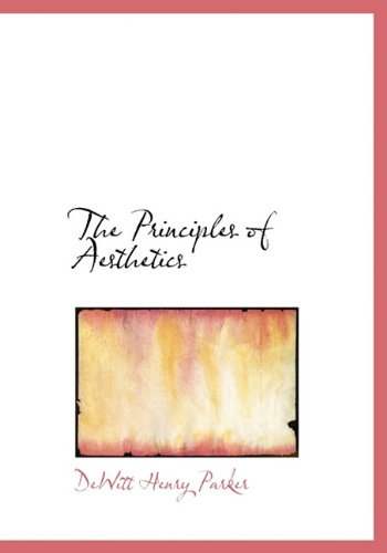 9781117003580: The Principles of Aesthetics