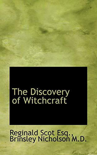 9781117016368: The Discoverie of Witchcraft. Being a Reprint of the First Edition