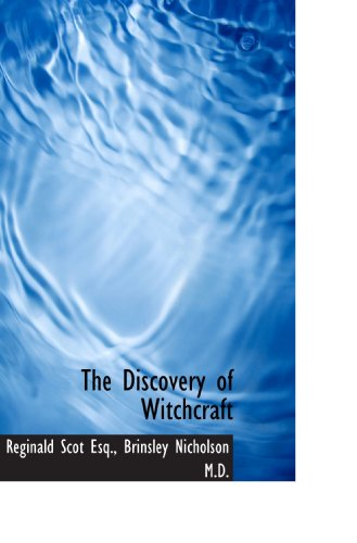 9781117016375: The Discovery of Witchcraft