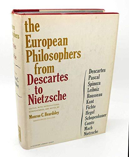 9781117021676: European Philosophers From Descartes To Nietzsche
