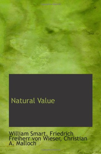 9781117024660: Natural Value