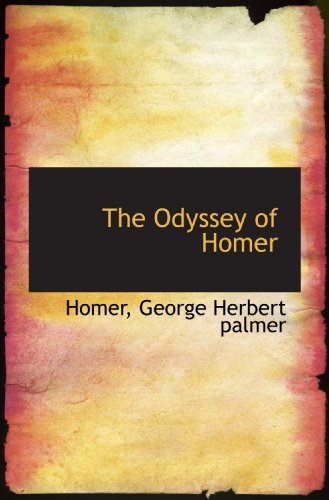 9781117034638: The Odyssey of Homer