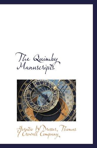 9781117048789: The Quimby Manuscripts