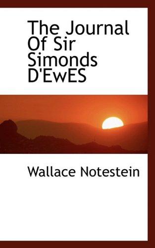 9781117064598: The Journal Of Sir Simonds D'EwES