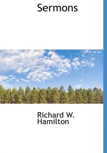 Sermons: Richard W. Hamilton