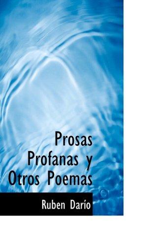 9781117124605: Prosas Profanas y Otros Poemas (Spanish Edition)