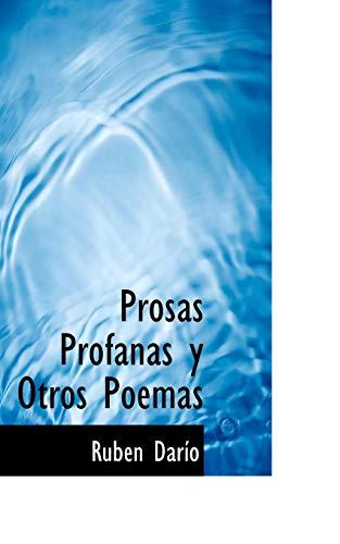 9781117124612: Prosas Profanas y Otros Poemas
