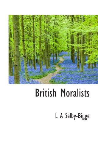 9781117152554: British Moralists