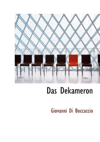 9781117158242: Das Dekameron (German Edition)