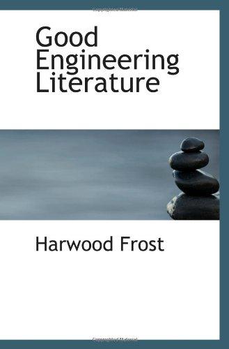 9781117186542: Good Engineering Literature